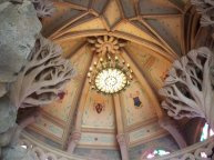 Inside the sleeping beauty's castle